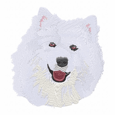 sam023 Samoyed (small or large design)