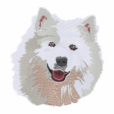 sam024 Samoyed (small or large design)