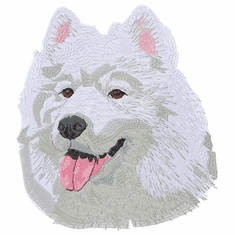 samoyed026 Samoyed (small or large design)