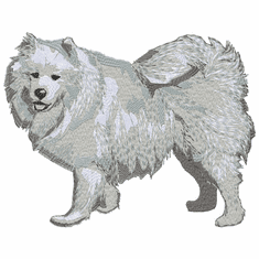 samoyed027 Samoyed (small or large design)