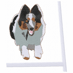 sheltie055 Shetland Sheepdog (Sheltie) (small or large design)