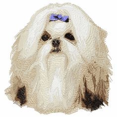shih001 Shih Tzu (small or large design)