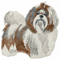 shih002 Shih Tzu (small or large design)