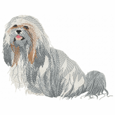 shih006 Shih Tzu (small or large design)