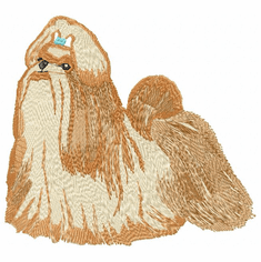 shih008 Shih Tzu (small or large design)