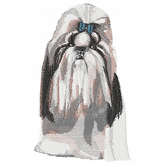 shih010 Shih Tzu (small or large design)