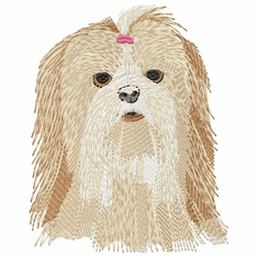 shih013 Shih Tzu (small or large design)