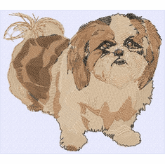 shih021 Shih Tzu (small or large design)