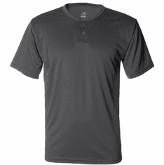 Short Sleeve Henley with small design