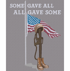 Some Gave All (small or large design)