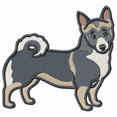 swedishvallhund002 Swedish Valhund (small or large design)