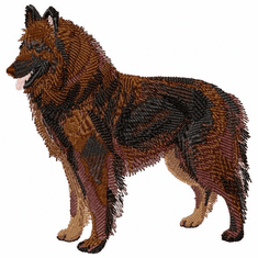 terv001 Belgian Tervuren (small or large design)
