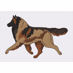 terv027 Belgian Tervuren (small or large design)