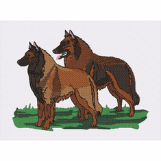 terv030 Belgian Tervuren  (small or large design)