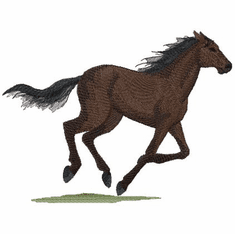 Thoroughbred001 Thoroughbred Horse (small or large design)