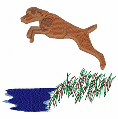 v007 Vizsla (small or large design)