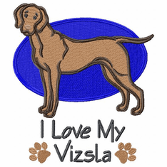 v013 Vizsla (small or large design)
