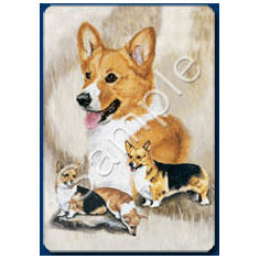 Welsh Corgi Playing Cards