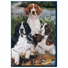 Welsh Springer Spanier Playing Cards