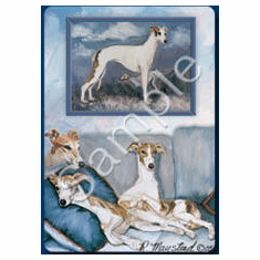 Whippet Playing Cards