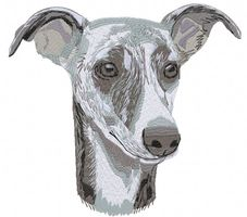 whippet007 Whippet (small or large design)