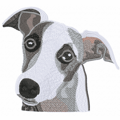 whippet008 Whippet (small or large design)