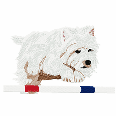 whwt019 West Highland White Terrier (small or large design)