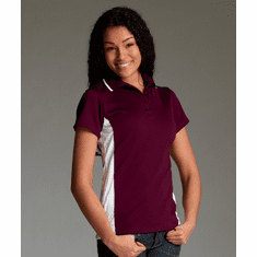 Women's Wicking Polo with design