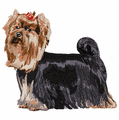 yorkie002 Yorkshire Terrier (small or large design)