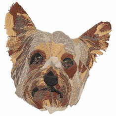 yorkie003 Yorkshire Terrier (small or large design)