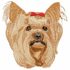 yorkie005 Yorkshire Terrier (small or large design)