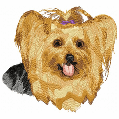 yorkie007 Yorkshire Terrier (small or large design)