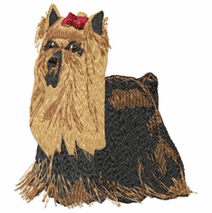 yorkie008 Yorkshire Terrier (small or large design)
