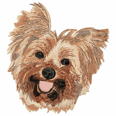 yorkie009 Yorkshire Terrier (small or large design)