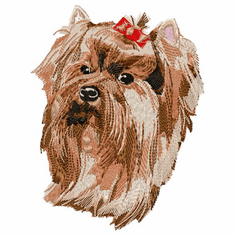 yorkie010 Yorkshire Terrier (small or large design)
