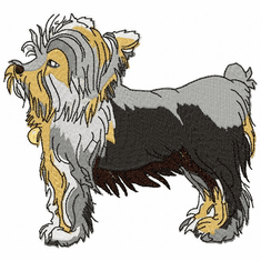 yorkie029 Yorkshire Terrier (small or large design)