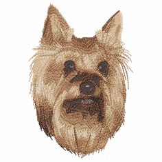 yorkie040 Yorkshire Terrier (small or large design)