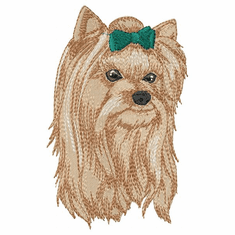 yorkie046 Yorkshire Terrier (small or large design)