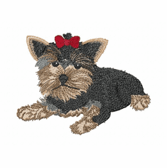 yorkie047 Yorkshire Terrier (small or large design)