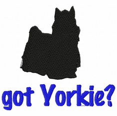 yorkie053 Yorkshire Terrier (small or large design)
