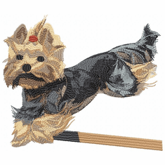 yorkie055 Yorkshire Terrier (small or large design)