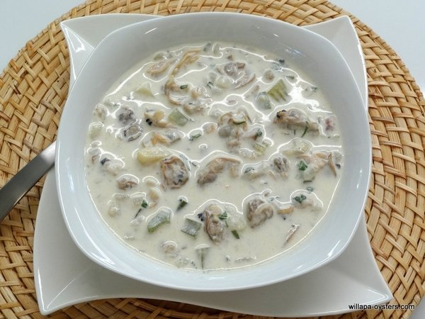Manila and Razor Clam Chowder - <font color=red>Quart Size</font>