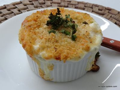 Dungeness Crab Mac and Cheese  - Ramekin