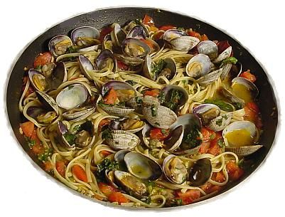 Willapa Manila Clams with Linguine - Prep. time 35 Minutes