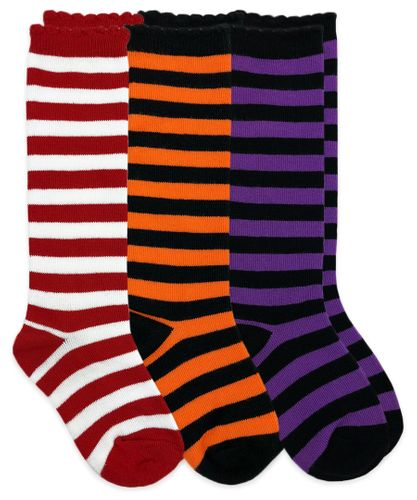 1618 Stripe Knee High Triple Treat 3 Pair Pack
