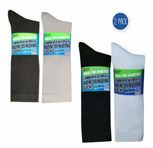72217 Dress Rib Sock with Comfort Top 2 Pair Pack