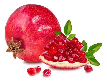 California Fresh  Pomegranate Fruit - 6 Fruits