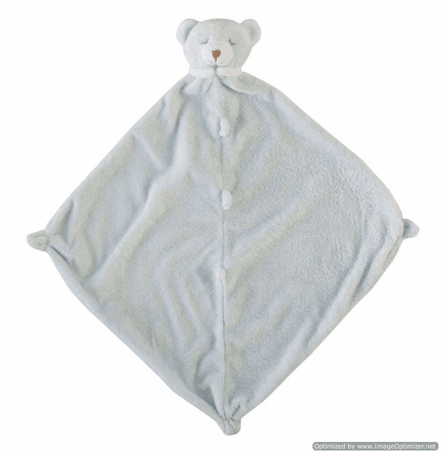 Angel Dear Blue Bear Personalzed Blankie