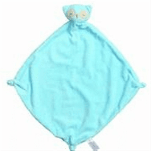 Angel Dear Blue Owl Personalized Blankie