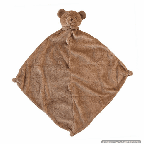 Angel Dear Brown Bear Personalized Blankie